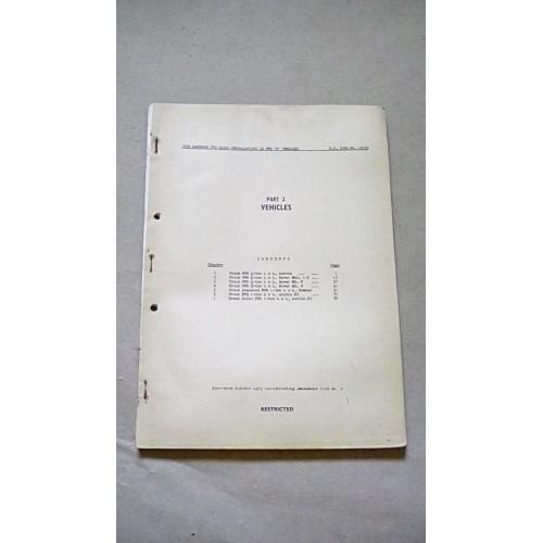 LARKSPUR USER HANDBOOK RADIO INSTALLATIONS IN FFR B VEHICLES  PART 2 VEHICLES